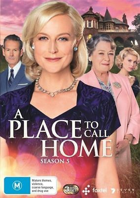 A Place To Call Home Season 5 BRAND NEW Region 4 DVD