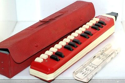 Hohner Melodica Alto Red in case Vintage