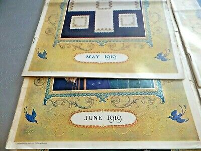 Neddle Craft Magazines with Cream of Wheat Prints in each. 1919-1921