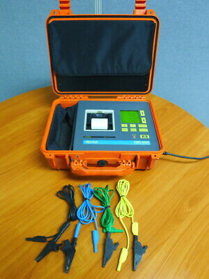 Algodue EMS-9080 3 Phase Power Analyzer, Electricity Measurement System