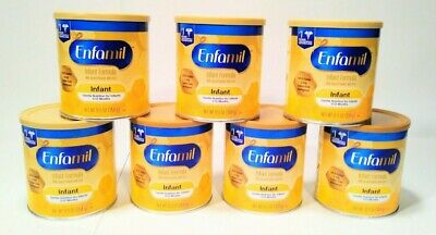 7 Can Lot Of Enfamil Infant Formula 12.5oz with Iron Expiration June 1 2020