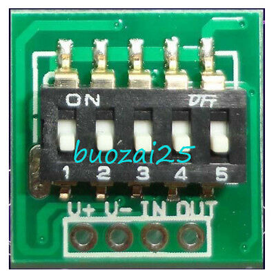 DC 3V-30V 6V 12V 24V DIP Timer Control Switch Module Relay LED Timing Controller