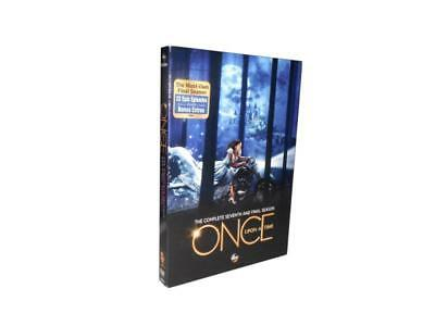 Once Upon a Time: The Complete Seventh Season 7 (DVD, 2018, 5-Disc Set)