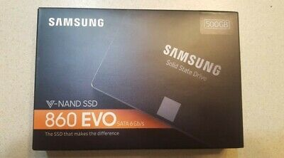 Samsung 860 EVO 500GB Internal 2.5in.  SSD