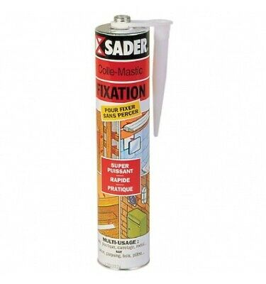 SADER Cartouche colle fixation multi-usages neoprene- 310 ml