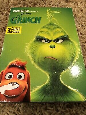 The Grinch (DVD, 2018)  (DVD, 2019 ) NEW FREE SHIPPING