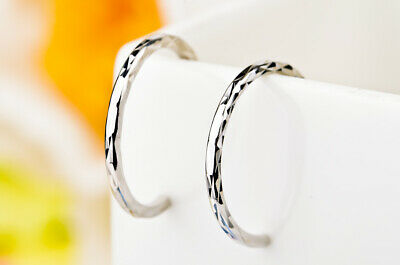 Women's 925 Sterling Silver Hoop Fashion Earrings