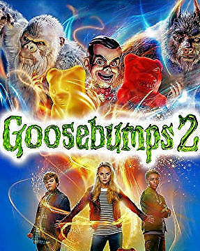 Goosebumps 2 (DVD) REGION 1 DVD (USA) BRAND NEW & SEALED