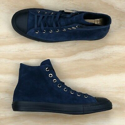 d892344f4fce Converse Chuck Taylor All Star Pro Cons Blue Black Suede High Top Shoes Size