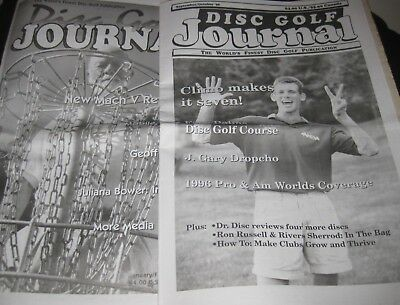 Disc Golf Journal Magazine Golf Disc Reference 46 Issues