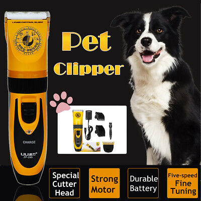 Professional Electric Pet Dog Cat Hair Trimmer Shaver Razor Fur Grooming Clipper