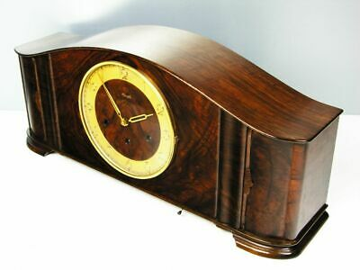 Very Big  Beautiful Art Deco Kienzle  Westminster Chiming Mantel Clock  Germany