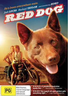 Red Dog (DVD) based on a true story LIKE NEW CONDITION FREE FAST POSTAGE