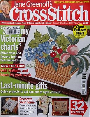 Jane Greenoff's Cross Stitch - #9 Christmas 1999 - Projects with a Festive Feel