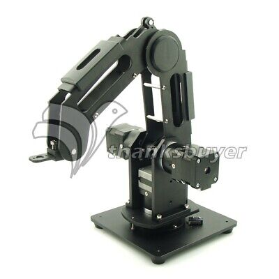3-Axis Mechanical Robot Arm 3-DOF Robotic Arm+3pcs 42 Gear Motors Aluminum Alloy