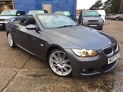 2007 BMW 335 M-Sport Convertible  Auto , Petrol, Leather, May MOT, With History