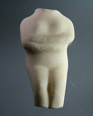 Cycladic Style Figure, Idol, marble, Mediterranean area, ca. 1600 BC