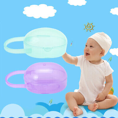 Baby Nipple Container Box Plastic Portable Pacifier Mini Transparent Protector