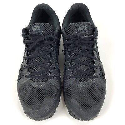 d3a6fa40408 Nike Air Max Running Gym Shoes Excellerate 3 Mens Size 12 Black 703072 020