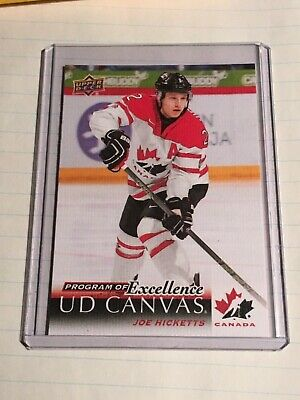 2018-19 Ud Upper Deck Series 2 Program Of Excellence Ud Canvas Joe Hicketts
