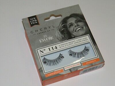 982a9a85eba CHERYL LENGTH LASHES by Eylure 114 Ladies Adhesive Easy Reusable ...