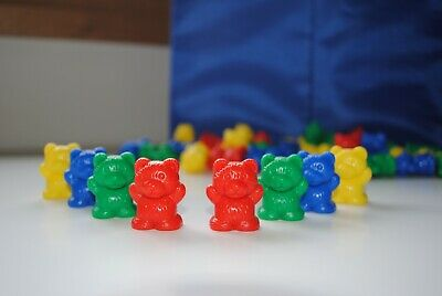 Teddy Bear Counters 40p  - Maths  - Games - Educational - Numeracy - School