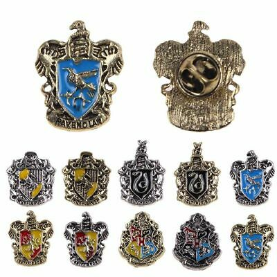 Harry Potter Hogwarts House Gryffindor Slytherin Chestpin Badges Pins Brooches