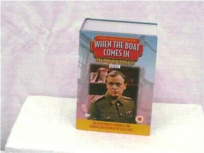 When The Boat Comes In - Series 1-4 - (DVD, 2007, 24-Disc Set) A-0259-MC-W07