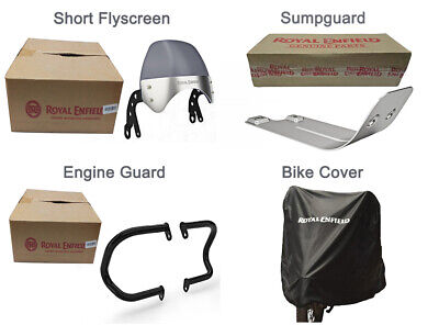 Genuine Royal Enfield Interceptor 650 Accessories Accessory Combo Pack 4 Pcs