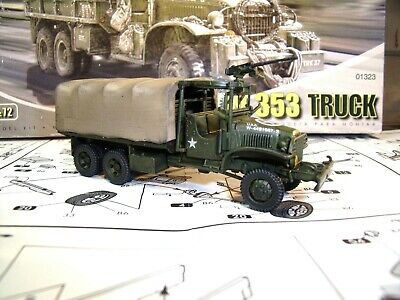 AIRFIX GMC CCKW 353 TRUCK - BUILT & PAINTED MODEL - 1/72 scale