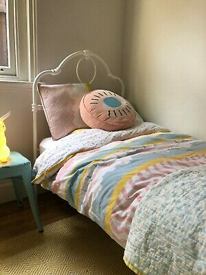 Cast Iron bed children's single antique style