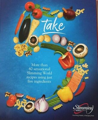 Slimming World Take 5 - Five Ingredients In Each Recipe Cook Book Cookbook - New