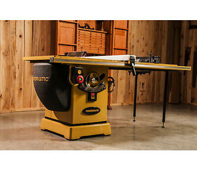 "Powermatic 3000B table saw - 7.5HP 3PH 230/460v 50"" RIP w/ Accu-Fence PM375350K"