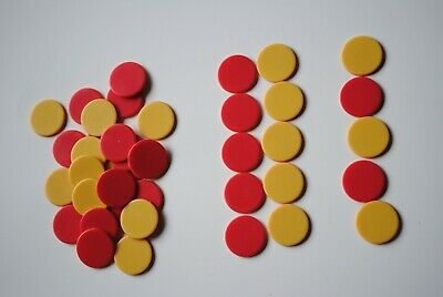 2 Colour Counters 40p  - Maths  - Games - Educational - Numeracy - School