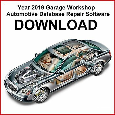 Year 2019 Garage Workshop Automotive Database Repair Software DOWNLOAD
