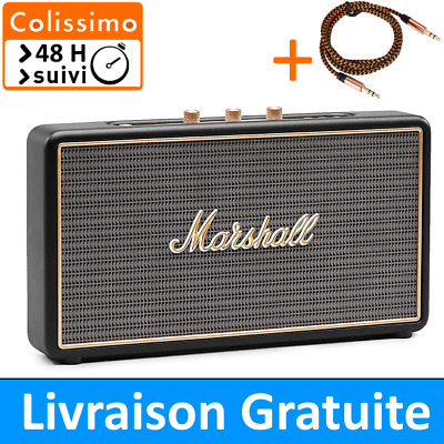 Marshall StockWell - Enceinte Bluetooth et Filaire 25W - 💛 Colissimo 48H