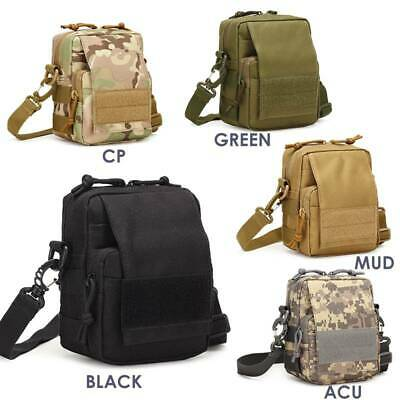 Outdoor Military Tactical Molle Waist Bag Camping Hiking Belt Bag Phone Pouch