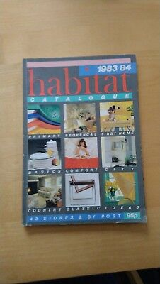 Vintage 1983/84 Habitat Annual Catalogue - Full Colour Pages - Iconic Designs
