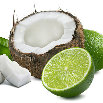 Lime & Coconut Fragrance Oil, Candle & Soap Making, Wax Melts Bath Bombs CLP 10%