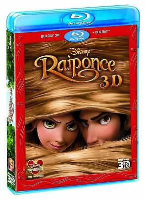 Raiponce [ Blu-ray 3D + version 2D ]  3 Disques -  Disney