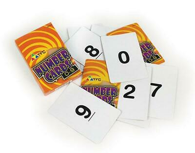 Playing cards 0-9 50p  - Maths  - Games - Educational - Numeracy - School