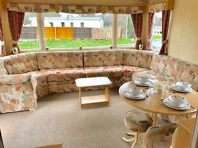3Bed Static Caravan  North Wales Site Fees From £1995 For 10 & Half Month Season