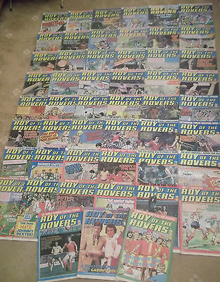 52 x ROY OF THE ROVERS from 1979 - Complete Year