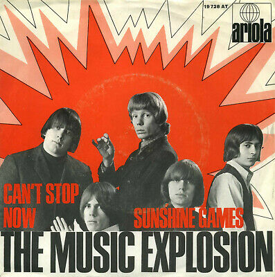 THE MUSIC EXPLOSION – CAN`T STOP NOW - GERMAN – PS – EX STRONG!!!   Label: Ariol