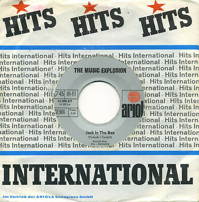 The Music Explosion – Jack In The Box – Mod/freakbeat - Ex!!!