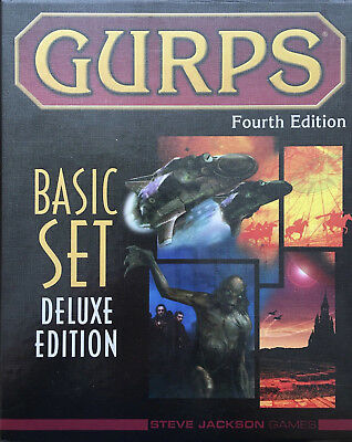 GURPS Fourth Edition - Basic Set - Limited Deluxe Edition - NEU