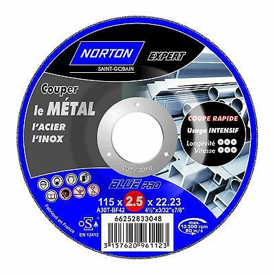 """4 1//2/"""" Depressed Dished Centre Metal Grinding Disc Stainless Steel AT850/_10P"""