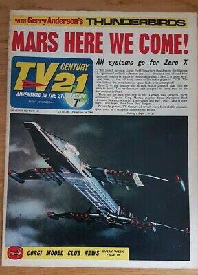tv century 21 comic universe edition 101 VG Stingray/ Fireball XL5/ DALEKS