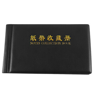 20 Page Currency Holder Banknote Album Collect  Case N7