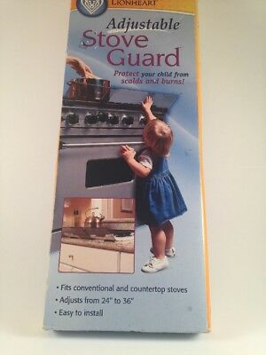 Adjustable Stove Guard by Prince Lionheart Baby Toddler Safety  NEW in the Box